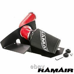 Ramair Cone Air Filter Induction Intake Kit En Rouge 2.0 Tsi Tfsi Gti Mk6 Fr Vrs