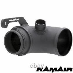 Ramair Filter Turbo Inlet Intake Elbow Air Pipe Pour Vw Golf Mk7 Gti R S3 Mqb Sti