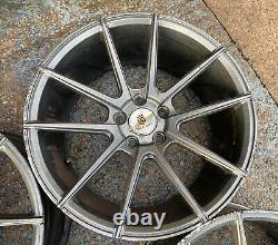 Véritable Stuttgart St9 18x9j 5x112 Alliage Roues Vw Audi Seat Skoda